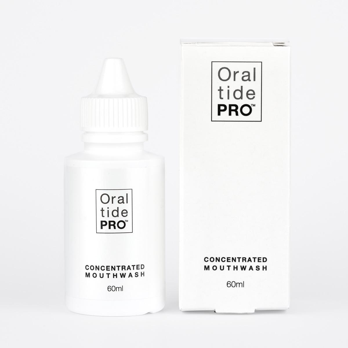 Oraltide-Pro™Mouthwash Bottle & Box
