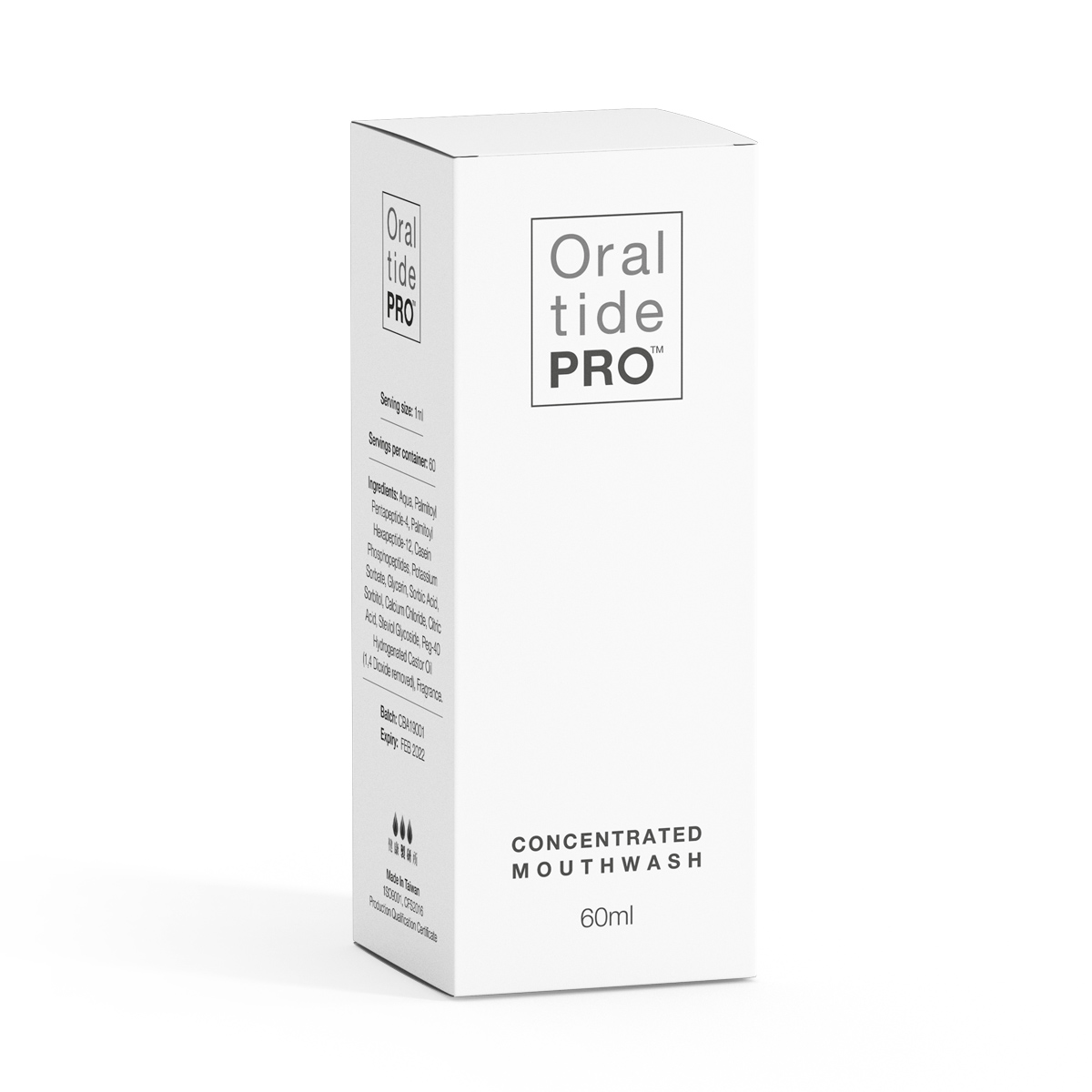 Oraltide-Pro™Mouthwash Box